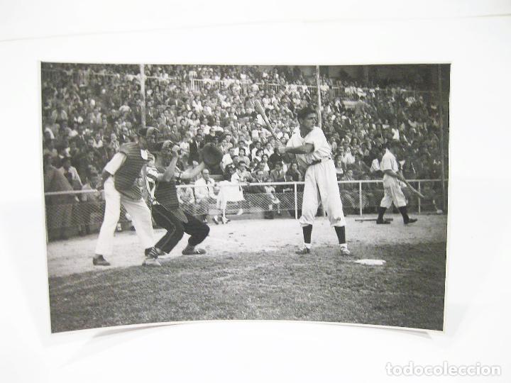 FOTOGRAFIA DE PRINCIPIOS DEL SIGLO XX DE UN PARTIDO DE BEISBOL (Coleccionismo Deportivo - Documentos - Fotografías de Deportes)