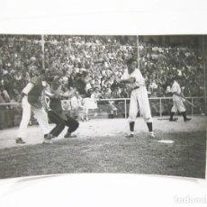 Coleccionismo deportivo: FOTOGRAFIA DE PRINCIPIOS DEL SIGLO XX DE UN PARTIDO DE BEISBOL. Lote 108454331