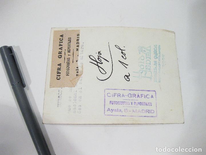 Coleccionismo deportivo: FOTOGRAFIA ORIGINAL DE PRINCIPIOS DEL SIGLO XX DE UN ATLETA EN ALGUNA CARRERA EN BURGOS - Foto 2 - 108454555