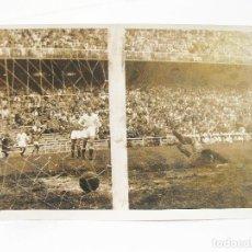 Coleccionismo deportivo: FOTOGRAFIA ORIGINAL DE PRINCIPIOS DEL SIGLO XX DE UN PARTIDO DE FUTBOL EN MADRID. Lote 108455483