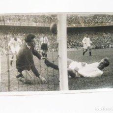 Coleccionismo deportivo: FOTOGRAFIA ORIGINAL DE PRINCIPIOS DEL SIGLO XX DE UN PARTIDO DE FUTBOL EN MADRID - REAL ATLETICO. Lote 108455675