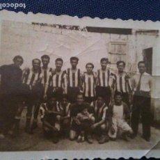 Coleccionismo deportivo: A IDENTIFICAR PARECE EL CASTELLON-1947,,DETRAS PONE UFESA. Lote 108716163