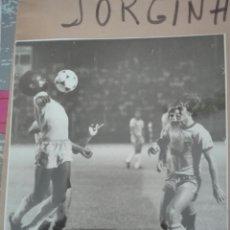 Coleccionismo deportivo: FOTOGRAFÍAS ORIGINALES PERTENECIENTES AL ARCHIVO DE UN PERIÓDICO. JORGINHO FUTBOLISTA BRASILEÑO. Lote 108801495