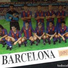 Coleccionismo deportivo: CABOT PROGRAMA WEMBLEY FINAL COPA DE EUROPA 1992 AUTOGRAFOS FUTBOL CLUB FC BARCELONA F.C BARÇA CF . Lote 109109675