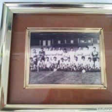 Coleccionismo deportivo: ALBACETE BALOMPIE..FOTOGRAFIA ORIGINAL DEL EQUIPO AL COMPLETO AÑOS 80. Lote 109504772