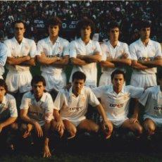 Coleccionismo deportivo: SEVILLA CF: FOTOGRAFÍA DE UN EQUIPO DE LOS AÑOS 90. Lote 110412403