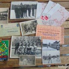 Coleccionismo deportivo: LOTE DE FOTOGRAFIAS Y DOCUMENTACION DE HOCKEY SOBRE PATINES CAMPEONATO DEL MUNDO . Lote 110648327