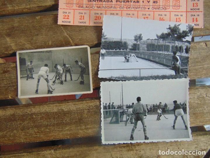 Coleccionismo deportivo: LOTE DE FOTOGRAFIAS Y DOCUMENTACION DE HOCKEY SOBRE PATINES CAMPEONATO DEL MUNDO - Foto 3 - 110648327