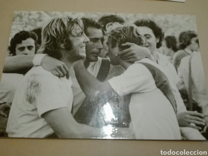 Coleccionismo deportivo: Fotografías originales de archivo periodístico Raynaldo MOSTAZA Merlo River Plate - Foto 2 - 111298143