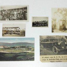 Coleccionismo deportivo: RECUERDOS DE ATHLETIC DE BILBAO. LAS 6 PIEZAS DE LAS IMÁGENES. 1900 A 1930. Lote 111340567