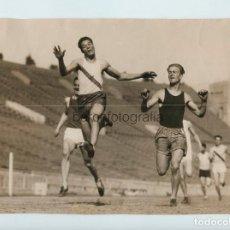 Coleccionismo deportivo: FRANK WYKOFF, 16 YEAR OLD, LOS ANGELES, CALIFORNIA. 4-28-1927. 15X22CM. SELLO FOTO VIDAL MADRID.. Lote 111457359