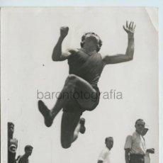 Coleccionismo deportivo: ALTAFULLA, PROV. DE TARRAGONA. CAMPEONATOS DE CATALUÑA DE ATLETISMO, 1930'S. 13X18 CM.. Lote 111458947