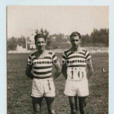 Coleccionismo deportivo: CAMPEÓN DE CASTILLA, 800MTS. AÑO 1927. FOTO: VIDAL, MADRID. 12,5X17 CM.. Lote 111459299