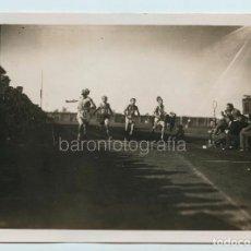 Coleccionismo deportivo: I CAMPIONATI ATLETICI ITALIANI, FINALE 100 MTS. FOTO: STRAZZA, 1930'S. 13X18 CM.. Lote 111459795