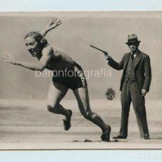 Coleccionismo deportivo: ATLETA FEMENINA POR IDENTIFICAR, FOTOAFI. 13X18 CM. 1930'S.. Lote 111459871