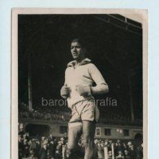 Coleccionismo deportivo: CORREDOR POR IDENTIFICAR, 1930'S. FOTO: SAGARRA Y TORRENTS, BARCELONA. 13X18 CM.. Lote 111460115
