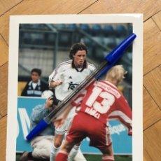 Coleccionismo deportivo: FOTO FOTOGRAFIA DE PRENSA JUGADOR REAL MADRID STEVE MCMANAMAN. Lote 111492735
