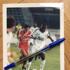 Coleccionismo deportivo: FOTO FOTOGRAFIA DE PRENSA JUGADOR REAL MADRID GEREMI. Lote 111492883