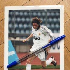 Coleccionismo deportivo: FOTO FOTOGRAFIA DE PRENSA JUGADOR REAL MADRID STEVE MCMANAMAN . Lote 111492931