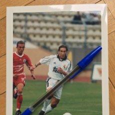 Coleccionismo deportivo: FOTO FOTOGRAFIA DE PRENSA JUGADOR REAL MADRID MICHEL SALGADO. Lote 111492979