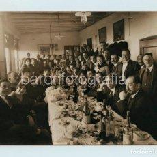 Coleccionismo deportivo: GRUPO DE DEPORTISTAS POR IDENTIFICAR, 1930'S. FOTO MERLETTI, BARCELONA. 11X15 CM.. Lote 111546247