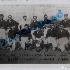 Coleccionismo deportivo: F-3586. FC BARCELONA CONTRA ESPAÑOL DE MADRID. AÑOS 1909-1910. ALINEACIÓN AZULGRANA .. Lote 111594591