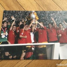 Coleccionismo deportivo: FOTO PRENSA FOTOGRAFIA ORIGINAL FUTBOL CAMPEONES EUROCOPA 2008 SELECCION ESPAÑOLA ESPAÑA. Lote 111624231