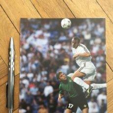 Coleccionismo deportivo: FOTO PRENSA FOTOGRAFIA ORIGINAL FUTBOL JOAQUIN REAL BETIS REAL MADRID. Lote 111625631
