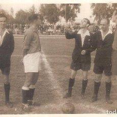 Coleccionismo deportivo: FOTOGRAFIA ORIGINAL UD MELILLA UD ESPAÑA TÁNGER 1948/49 48/49. Lote 112630815