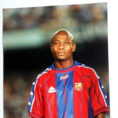 Coleccionismo deportivo: FOTO ORIGINAL FOTOGRAFIA KODAK - FÚTBOL - ANDERSON - FC BARCELONA - LIGA 96/97. Lote 135156593