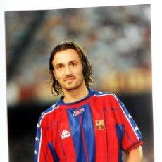Coleccionismo deportivo: FOTO ORIGINAL FOTOGRAFIA KODAK - FÚTBOL - DUGARRY - FC BARCELONA - LIGA 96/97. Lote 135156606