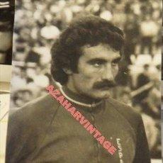 Coleccionismo deportivo: ANTIGUA FOTOGRAFIA , JUGADOR ATLETICO MADRID , CAPON, EN LA SELECCION ESPAÑOLA, 65X108MM. Lote 113064315