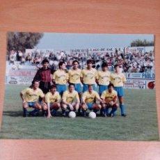 Coleccionismo deportivo: ORIHUELA DEPORTIVA - TEMPORADA 90 91 - MEDIDAS 18 X 13. Lote 113201875