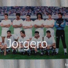 Coleccionismo deportivo: MILÁN. ALINEACIÓN CAMPEÓN COPA DE EUROPA 1988-1989 EN EL CAMP NOU CONTRA STEAUA B. FOTO. Lote 113216135