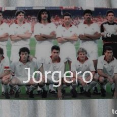 Coleccionismo deportivo: MILÁN. ALINEACIÓN CAMPEÓN COPA DE EUROPA 1989-1990. FOTO. Lote 113216143