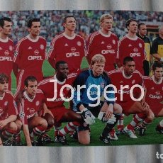 Coleccionismo deportivo: BAYERN MUNICH. ALINEACIÓN GANADOR CHAMPIONS 2000-2001 EN MILÁN CONTRA EL VALENCIA. FOTO. Lote 182427072