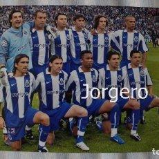 Coleccionismo deportivo: F.C. OPORTO. ALINEACIÓN GANADOR CHAMPIONS 2003-2004 EN GELSENKIIRCHEN CONTRA EL MÓNACO. FOTO. Lote 174421533
