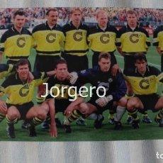 Coleccionismo deportivo: BORUSSIA D. ALINEACIÓN GANADOR CHAMPIONS 1996-1997 EN MUNICH CONTRA LA JUVENTUS. FOTO. Lote 178284136