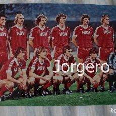 Coleccionismo deportivo: HAMBURGO S.V. ALINEACIÓN CAMPEÓN COPA DE EUROPA 1982-1983 EN ATENAS CONTRA LA JUVENTUS. FOTO. Lote 178279987