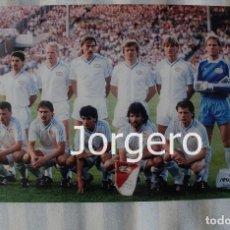 Coleccionismo deportivo: PSV EINDHOVEN. ALINEACIÓN CAMPEÓN COPA DE EUROPA 1987-1988 EN STUTTGART CONTRA EL BENFICA. FOTO. Lote 178283642