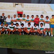 Coleccionismo deportivo: ANTIGUA FOTOGRAFIA PLANTILLA ELCHE CLUB FUTBOL 1975 MEDIDAS 15 X 10 CENTIMETROS. Lote 113606523