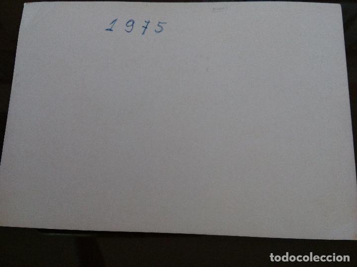 Coleccionismo deportivo: antigua fotografia plantilla elche club futbol 1975 medidas 15 x 10 centimetros - Foto 2 - 113606523