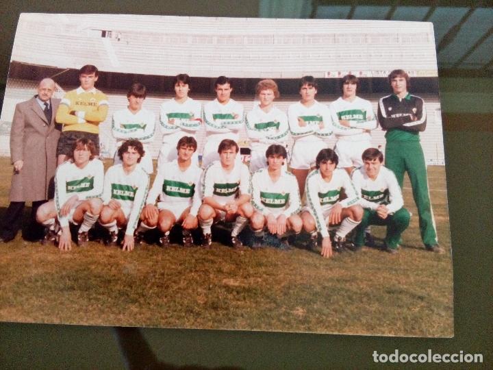 antigua fotografia plantilla elche club futbol - Comprar Fotografías ...
