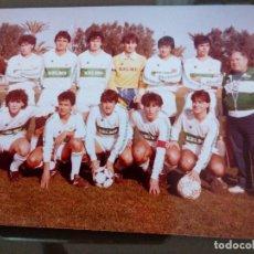 Coleccionismo deportivo: ANTIGUA FOTOGRAFIA ELCHE CLUB FUTBOL JUVENIL - TEMPORADA 84 85 MEDIDAS 15 X 10 CENTIMETROS. Lote 113607827