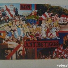 Coleccionismo deportivo: FOTOMONTAJE DE ULTRAS DEL SEVILLA F.C. , BIRIS NORTE : ANTIBETICOS.. Lote 114093759