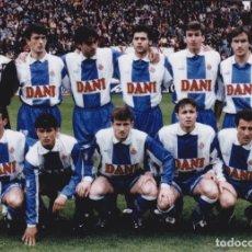 Coleccionismo deportivo - RCD. ESPAÑOL: Fotografía de un equipo. - 114308939