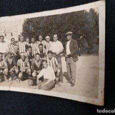 Coleccionismo deportivo: FOTOGRAFIA ORIGINAL - PLANTILLA EQUIPO DE FUTBOL - ¿AÑOS 30? - DESCONOZCO EQUIPO. Lote 114518303