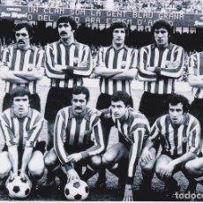 Coleccionismo deportivo: ATHLETIC DE BILBAO: FOTOGRAFÍA DE UN EQUIPO HISTÓRICO. Lote 114612255