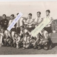Coleccionismo deportivo: HERCULES, C. F. - TEMP. 1965/66 - FOTOGRAFIA ORIGINAL - 24 X 18 CMS. -PARTIDO CONTRA EL GRANADA, C.F. Lote 114682299