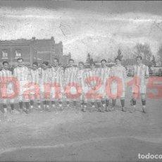 Coleccionismo deportivo: REAL SOCIEDAD DE FÚTBOL 1917 - FOTOGRAFIA ANTIGUA - NEGATIVO DE CRISTAL. Lote 114987379
